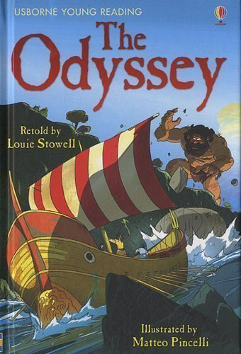 The Odyssey (Usborne Young Reading) by Louie Stowell (2011)