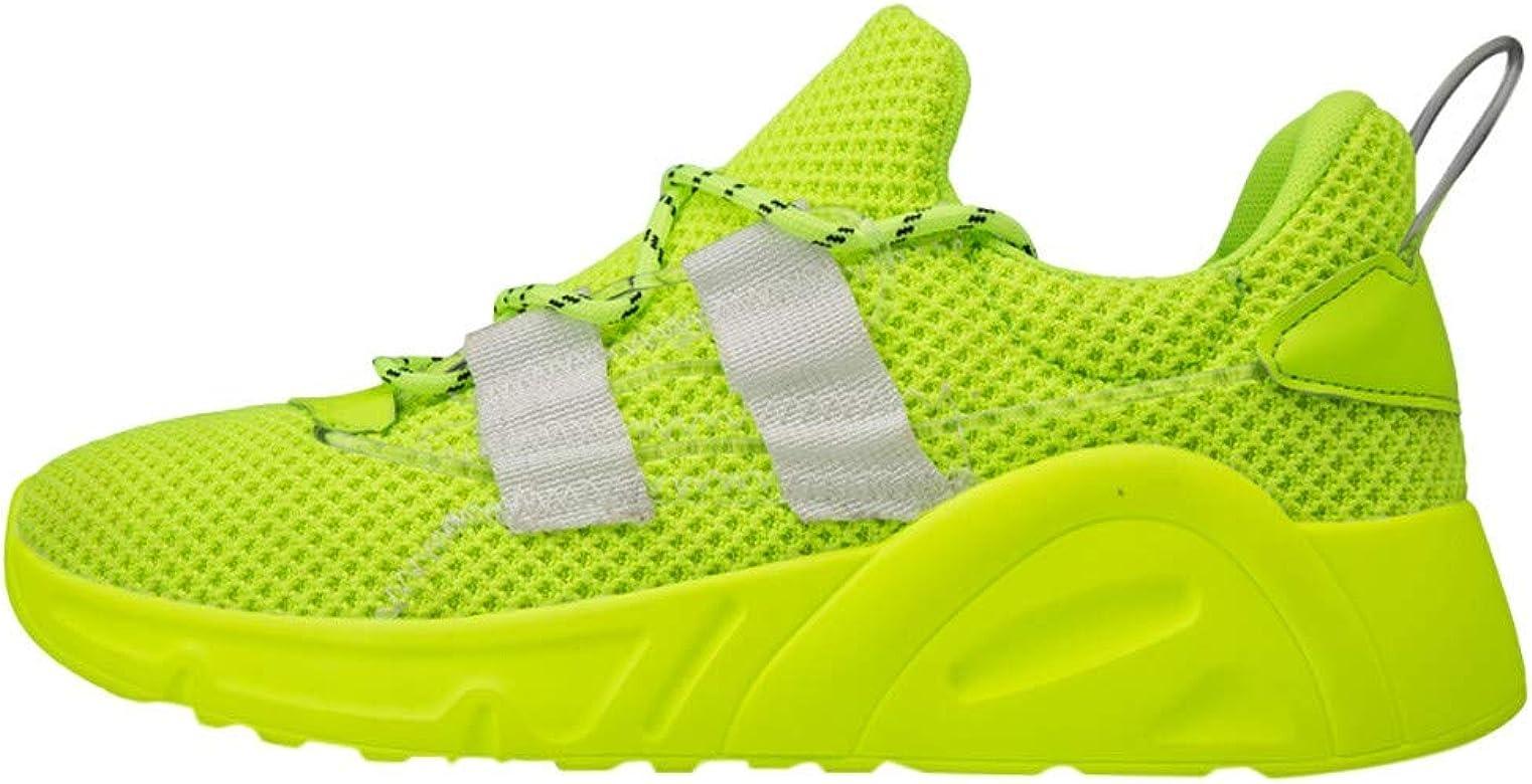 Baodanya - Zapatillas de deporte para hombre, unisex, zapatillas para correr, zapatillas para correr, zapatillas deportivas para hombre, transpirables y ligeras verde 42: Amazon.es: Ropa y accesorios