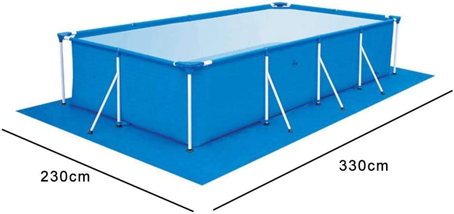 PITCHBLA Marco Piscinas Piscina Bañera de hidromasaje Filtros Piscina cuadrada Tapete de tela Cojín de piscina Piso de piscina de tela: Amazon.es: Hogar