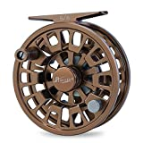 Piscifun Blaze Fly Fishing Reel or Spare Spool with CNC-machined Aluminum Alloy Body 3/4, 5/6, 7/8, 9/10(Gold, Brown, Sapphire Blue)
