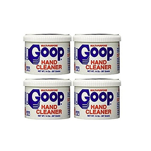 Ounce Cleaner 14 Hand - Goop Hand Cleaner, Laundry Stain Lifter, 14 Ounce Critzas Ind. (Pack of 4)