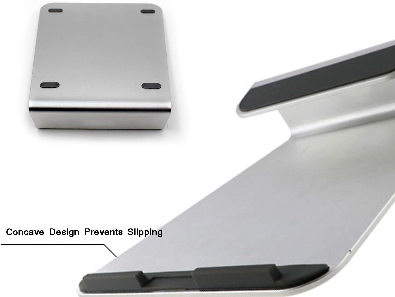 SYJJE Soporte para Laptop, Soporte Ergonómico para Enfriamiento De Notebook, Liviano Y Que Ahorra Espacio, Adecuado para Laptops, Tabletas, Etc. (Plateado): Amazon.es: Hogar
