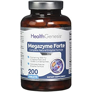 Amazon Com Megazyme Forte 200 Tabs Natural Plant
