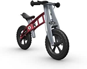 FirstBike FBG-BCCXL2004 Balance Bike with Brake, Red, 32.7 x 15 x 22 inches ; 7.5 pounds