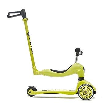 LJJL Scooter De Tres Ruedas For Niños, Tres En Uno (Push, Ride ...