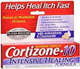Cortizone-10 Intensive Healing Formula Anti-Itch Creme 1 oz (Pack of 10)