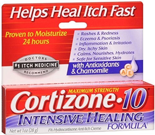 Cortizone-10 Intensive Healing Formula Anti-Itch Creme 1 oz (Pack of 10)