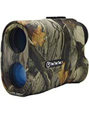 TecTecTec ProWild Hunting Rangefinder - Laser Range Finder for Hunting with Speed, Scan and Normal Measurements