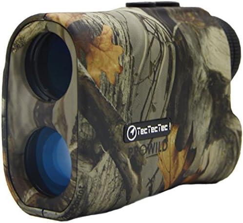 TecTecTec ProWild Hunting Rangefinder - Laser Range Finder for Hunting with Speed