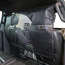 Bushwhacker® - Dog Barrier for Vehicles - Pet Restraint Car Back Seat Divider Vehicle Gate Cargo Area Car Truck SUV (50 inch Wide)