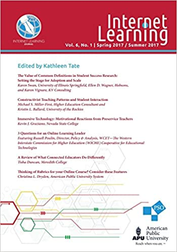 Internet Learning Journal: Vol. 6, No. 1 - Spring 2017 ...