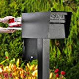 Mail Boss 7526 Mail Manager Street Safe Locking Security Mailbox