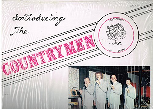 - Introducing the Countrymen, Messengers of Song - Live at the Country Palace - Vinyl LP Record