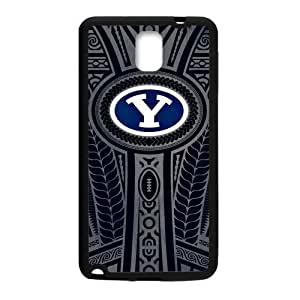 Zyhome Galaxy Note 3 Brigham Young University NCAA BYU Cougars Teams Logo Case Cover for Samsung Galaxy Note 3 (Laser Technology)