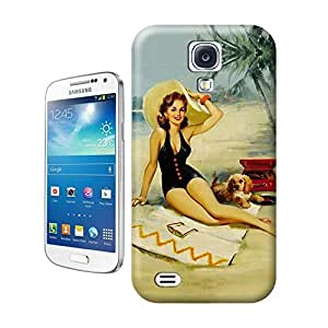 Unique Phone Case Fashion girl#16 Hard Cover for samsung galaxy s4 cases-buythecase
