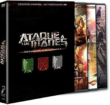 Ataque A Los Titanes. Pack 3 Películas.