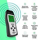 EMF Meter - Handheld Electromagnetic Field Radiation Detector, Dosimeter Counter, Batteries Included - 1 Year Warranty