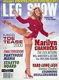 Leg Show Magazine - December 2000: Porn Stars Marilyn Chambers, Kristi Myst, and More