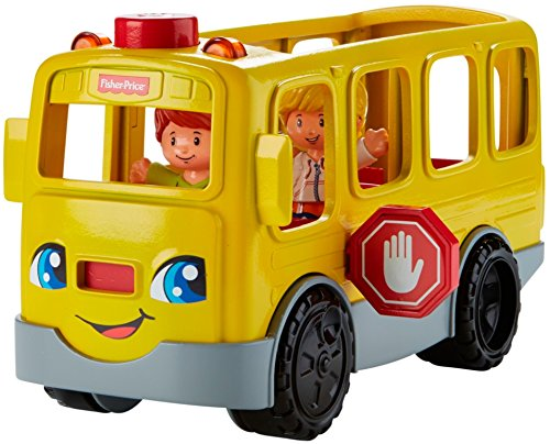 51aKmyeX6YL - Fisher-Price Little People Sit with Me School Bus Vehicle