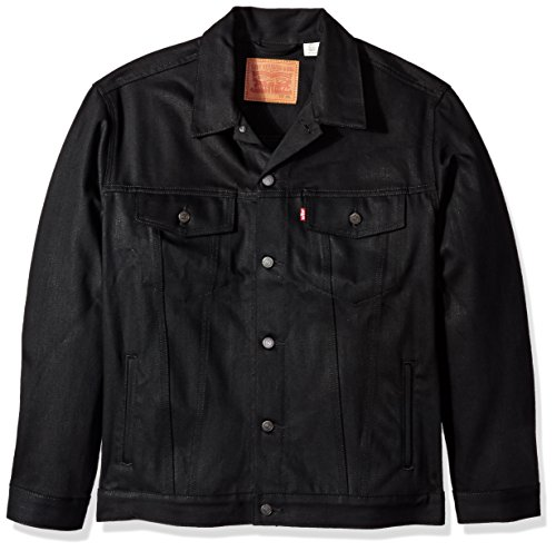 How to buy the best trucker jacket men black?