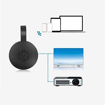 2.4G WiFi Inalámbrico La Misma Pantalla Dongle Adaptador HDMI TV portátil Streaming Receptor de Medios 1080P Airplay Dongle Pantalla de Espejo Soporte Miracast (2pcs): Amazon.es: Electrónica