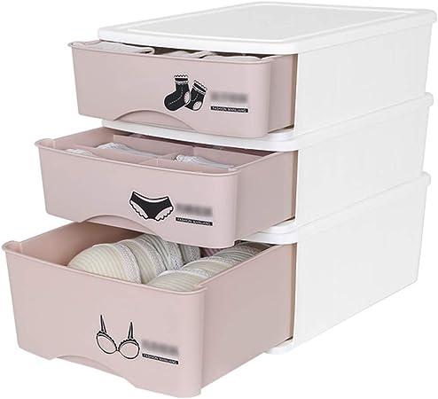 HHSNX Caja De Almacenamiento De Ropa Interior Armario De Almacenaje Doméstico Tipo Cajón para Ropa Interior Y Calcetines,A: Amazon.es: Hogar