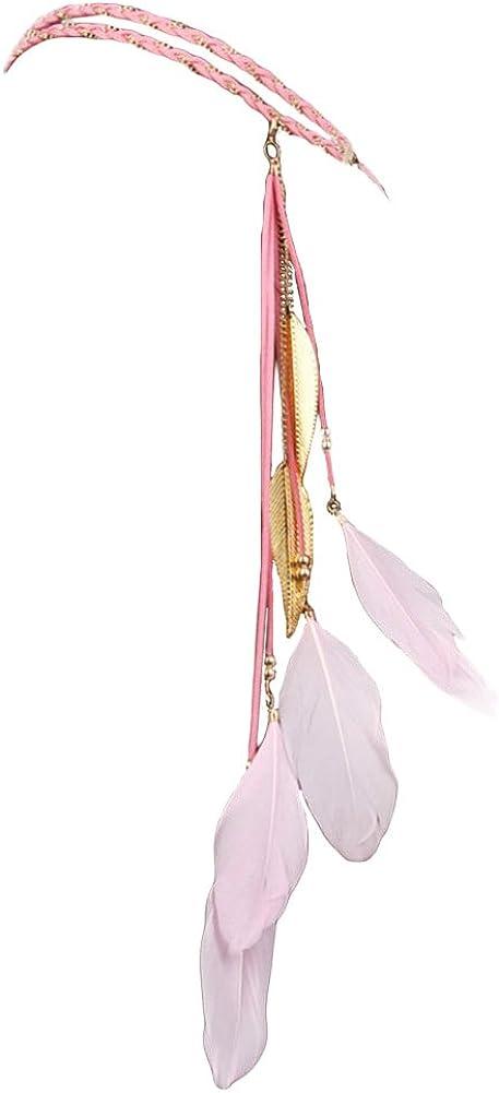 BUYITNOW Women Feather...
