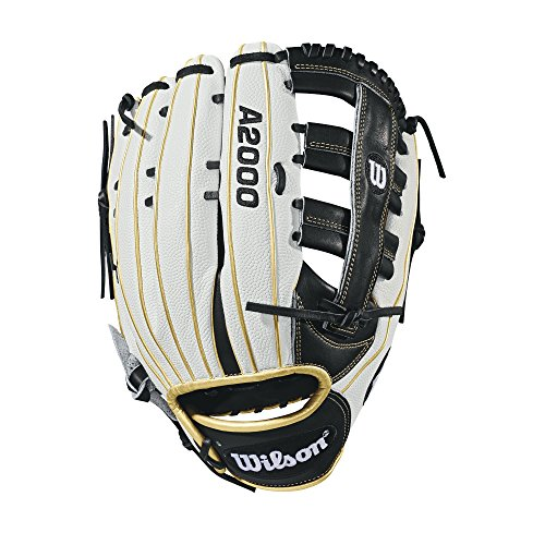 "Wilson A2000 SuperSkin 13"" Slowpitch Glove - Right Hand Throw"