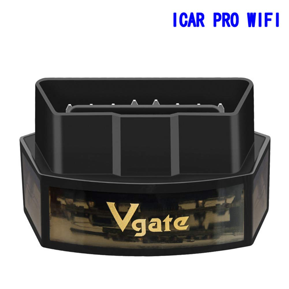 DishyKooker iCar Pro WiFi Low Power EOBD/OBD2 Car Detector Supports I-OS and and-roid for VGA-TE