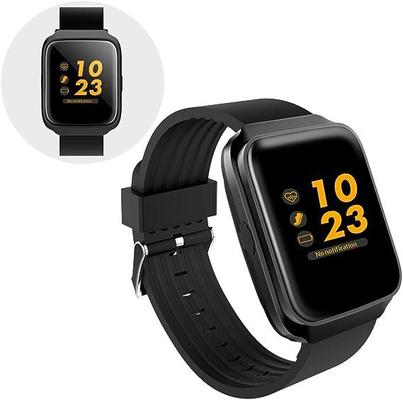 Amazon.com: DDKJ Smart Watch Bluetooth Smartwatch Touch ...