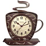 Westclox NYL32038 32038 Coffee Time 3-Dimensional Wall Clock offers