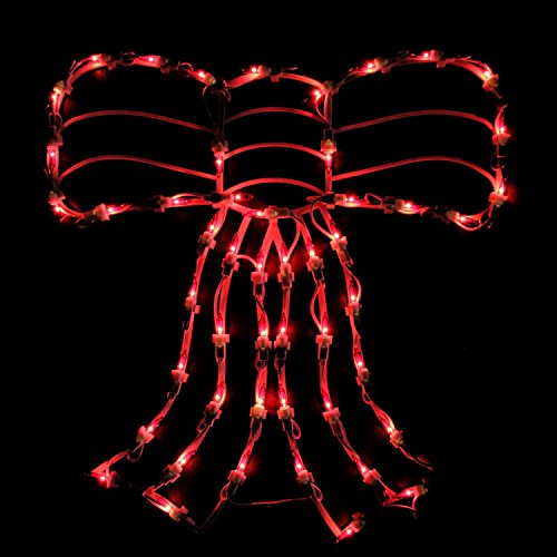 Outdoor Lighted Bows - 7