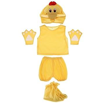 Traje de Disfraz de Pato Animal Dulce Niños Cautivador Lindo ...