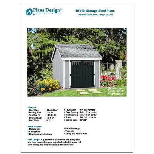 Shed Plans 10x10: Amazon.com on factory roof, loft roof, boat roof, well roof, building roof, bicycle roof, hotel roof, tractor roof, white roof, office roof, cabin roof, warehouse roof, farmhouse roof, dog roof, apartment roof, hospital roof, cottage roof, city roof, tenement roof, adobe roof,