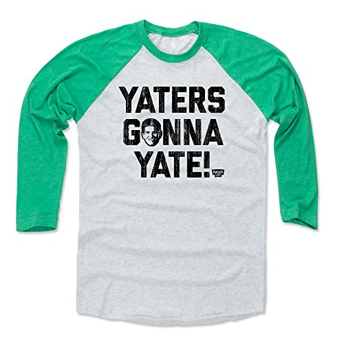 eball Tee Shirt - X-Large Green/Ash - Field Yates Yaters Gonna Yate ()