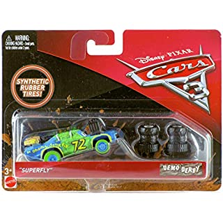 "Mattel Disney Cars Cars 3 Demo Derby ""Superfly"" Diecast Car"