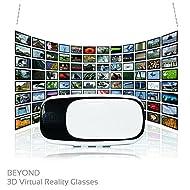Lunettes 3D Réalité Virtuelle TEKNO LOGIK [distance focale & distance entre les yeux ajustables] video, jeux videos – Compatibles smartphones 3.5 - 6 inch (iPhone Samsung Huawei LG Nexus HTC, etc..)
