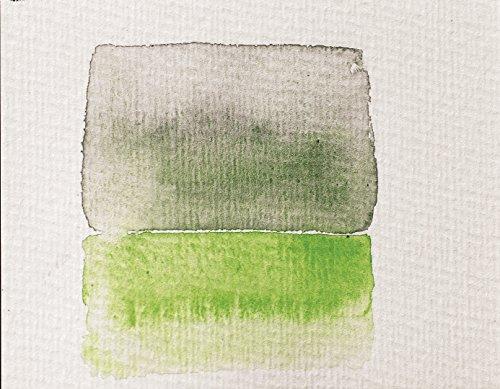 Clairefontaine 96560C Malblock, 4-seitig verleimt Aquarellpapier Grobkorn Torchon, Etival/Zellulose, 18 x 24 cm, 10 Blatt, 300 g Packung, weiß