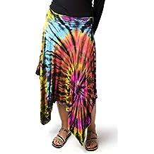 TCG Women's Tie-Dye Fairy Skirt - Rainbow-Multi