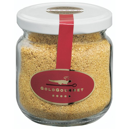 Edible Gold Leaf Dust, 23k. 1 Gram per Jar by Gold Gourm