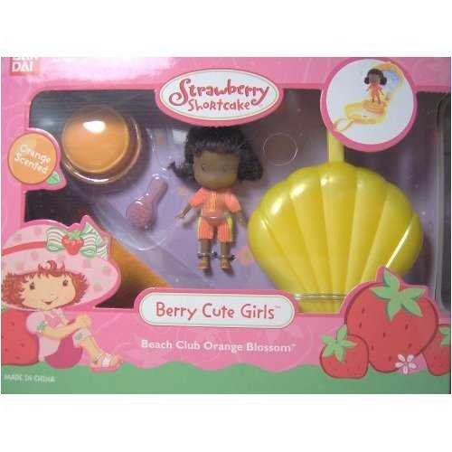 Strawberry Shortcake Berry Cute Girld Beach Club Orange Blossom