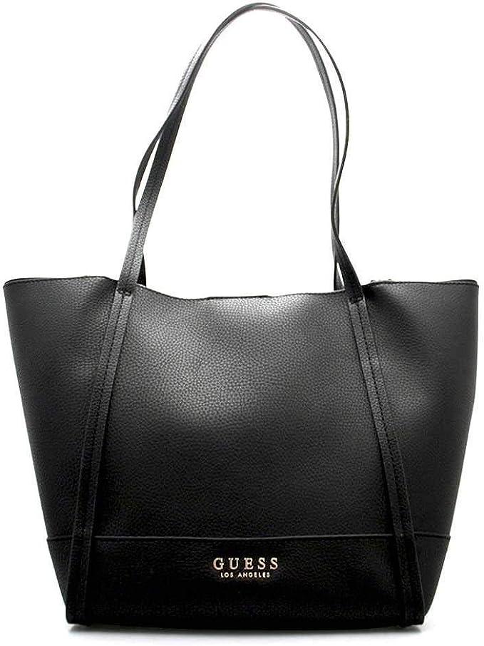 hohe Qualität letzter Rabatt billiger Verkauf Guess Tasche HEIDI Damen Schwarz - HWVE7176230BLA: Amazon.de ...