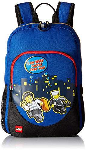 LEGO City Nights Backpack, Blue, One Size