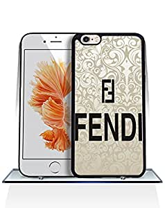 Personalized Case for Iphone 6 / 6s [4.7 inch] Brand Logo Fendi Drop Proof Rugged Anti Slip Durable High Impact Extra Slim