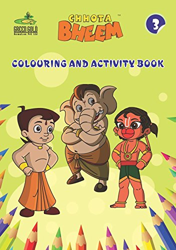 Buy Chhota Bheem Mini Coloring Activity Books Set 1 Book Online At Low Prices In India