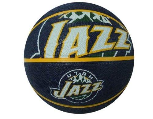 NBA Utah Jazz Spaldingteam Logo, Multi, 29.5''