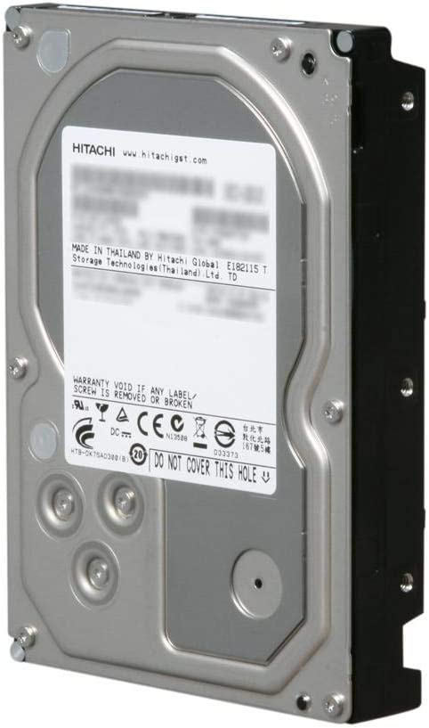 Hitachi Ultrastar 7K3000 HUA723030ALA640 3TB 64MB Cache 7200RPM SATA 6.0Gb/s 3.5in Enterprise Internal Hard Drive - 3 Year Warranty (Renewed)