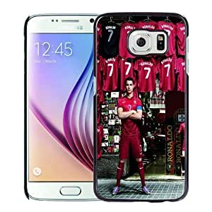 New Personalized Custom Designed For Samsung Galaxy S6 Phone Case For CR7 Phone Case Cover hjbrhga1544