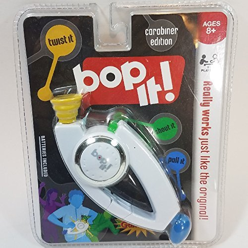 BOP IT Carabiner Edition Pocket Travel Handheld Portable Strategy 1 Or More Player Game