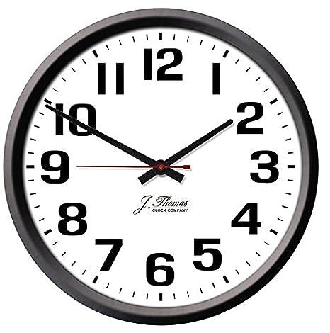 J. Thomas Ohm Electric Wall Clock - 10\